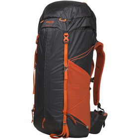 Bergans Helium 55 Mochila, solid charcoal/koi orange